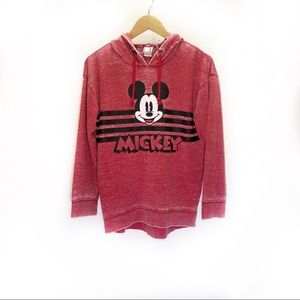Faded Wash Mickey Mouse Light Hoodie